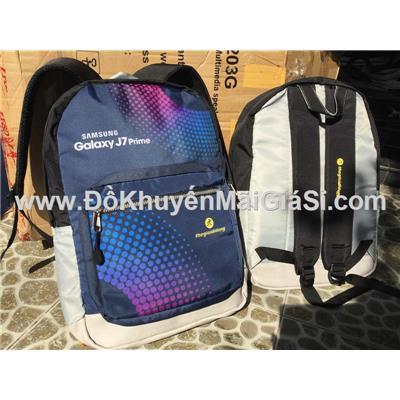 Balo Samsung J7 vải dù chống ướt siêu nhẹ, siêu bền cho học sinh - sinh viên - Kt: (43 x 34 x 11) cm