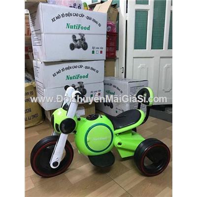 Xe mô tô điện Nutifood 3 bánh cho bé 2 - 5 tuổi (<= 30 ký) - Phí giao hàng tính riêng 20 ngàn