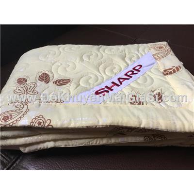 Mền hè cotton chần gòn có hoa văn cao cấp Sharp tặng - Kt: (1.8 x 1.3) mét