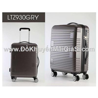 Vali kéo du lịch có khóa số Lock&Lock Travel Zone LTZ930 20 in - Màu xám
