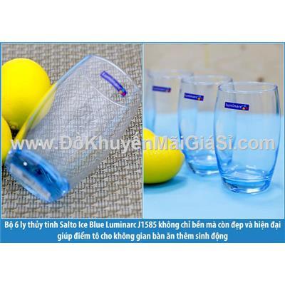Màu xanh: Bộ 6 ly thủy tinh Luminarc Salto 350ml