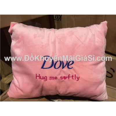Gối tựa lưng Dove hình chữ nhật màu hồng - Kt: (38 x 30) cm