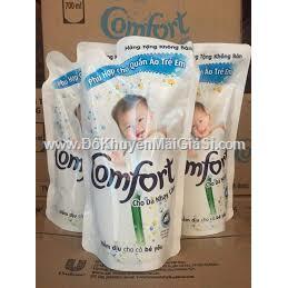 Nước xả vải Comfort đậm đặc cho da nhạy cảm túi 700 ml - Date: 20120