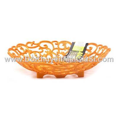 Dĩa nhựa may mắn/ hạnh phúc Vinamilk size lớn đường kính 32cm - Thích hợp chưng trái cây, gói quà