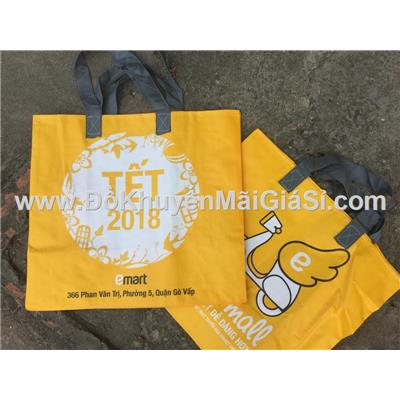 Túi xách Emart bảo vệ môi trường cỡ lớn - Kt: (41 x 38.5 x 22) cm