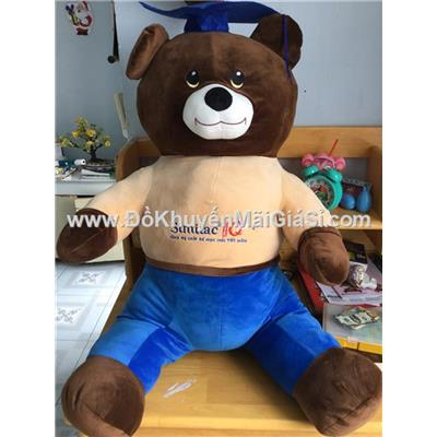 Gấu bông cử nhân Similac cỡ đại cao 1 mét - Phí giao hàng tính riêng 20 ngàn