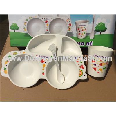 Bộ dụng cụ ăn PediaSure 3 món cho bé - Kt: (38.5 x 8 x 20.5) cm