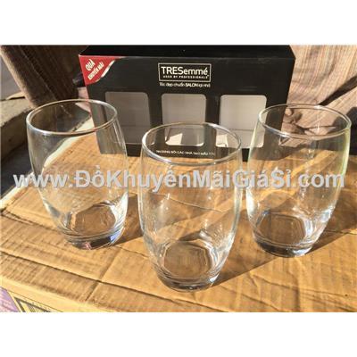 Bộ 3 ly thủy tinh Luminarc Salto 350 ml màu trắng có hộp - Tresemme tặng