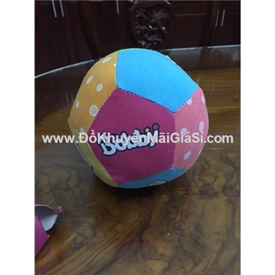 Trái banh nhồi bông Bobby nhiều màu sắc - Đường kính banh 15 cm