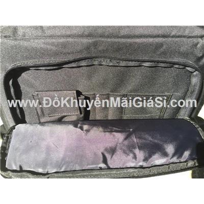 Túi xách đeo chéo nhiều ngăn đẳng cấp Heineken - Kt (cm): 38 x 34 x 10