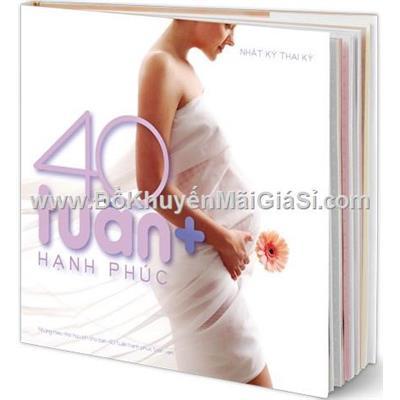 Nhật ký thai kỳ Anmum bìa cứng - Kt: (21 x 19) cm
