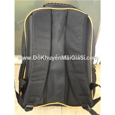 Cam đen: Balo CoopXtra nhiều ngăn cỡ lớn, có ngăn đựng laptop chống sốc - Kt: (45 x 35 x 16)