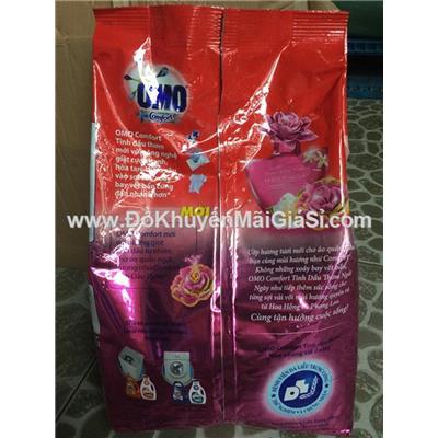 Bột giặt Omo Comfort tinh dầu thơm bịch 4.1 kg - Màu hồng