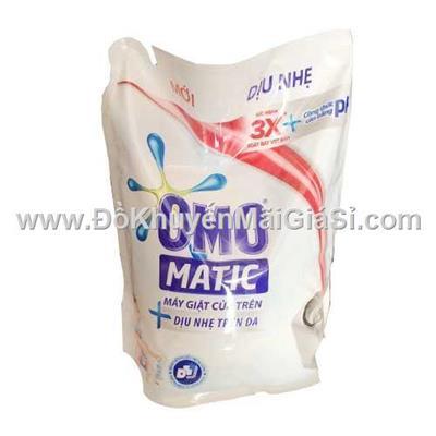 Túi nước giặt Omo Matic cửa trên dịu nhẹ trên da 2.4kg - Date: 2021