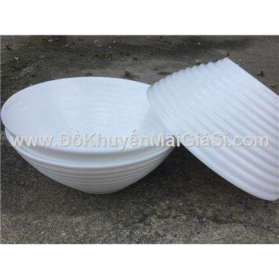Bộ 3 tô thủy tinh cao cấp Luminarc Harena 7 in - Đường kính: miệng 18cm, đáy 7,2 cm