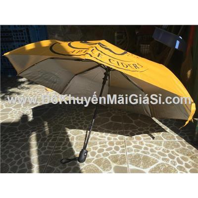 Dù cầm tay xếp gọn Strongbow bấm bật tự động - Đường kính 98 cm - Màu vàng