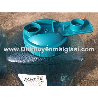 Bình nhựa Lock&Lock 2.1 lít HAP736B nắp bật màu xanh dương