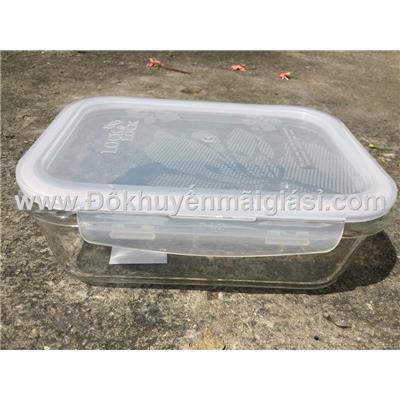 Hộp thuỷ tinh chịu nhiệt Lock & Lock 1000ml LLG445-1