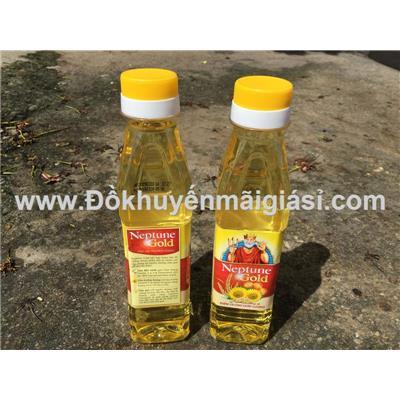 2 chai dầu ăn thượng hạng Neptune Gold 250ml - Date: 09/03/2020