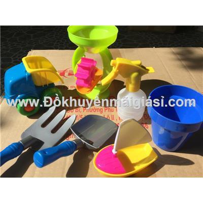 Bộ đồ chơi xúc cát đi biển Nutifood 7 món