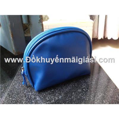 Ví cầm tay đựng đồ cá nhân/ mỹ phẩm Dove chống ướt - Kt: (16.5 x 6.5 x 13) cm - Màu xanh