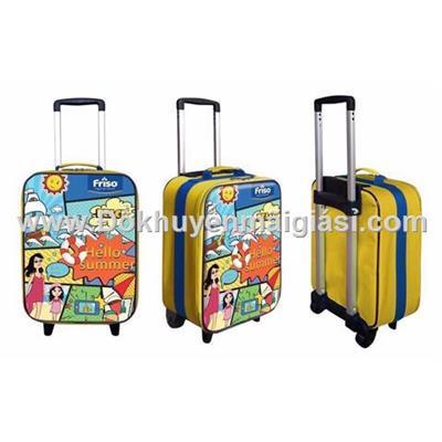 Vali kéo Friso hình chữ nhật cần đôi cho bé - Kt: (36 x 28 x 15) cm