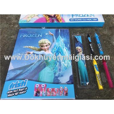 Bộ dụng cụ học tập Dutch Lady 4 món cho bé gái - Hoạt hình Frozen