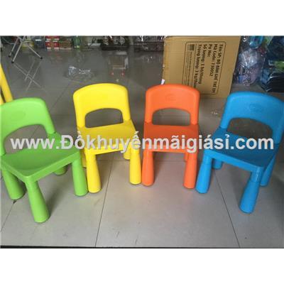 Ghế nhựa Friso có tựa lưng cho bé - Kt: (26 x 27 x 30 x 46) cm