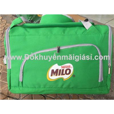 Balo kiêm túi xách du lịch Milo dạng hộp nhiều ngăn size lớn - Kt: (d47 x r27 x c29) cm