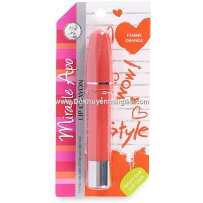 Son Sáp Bút Chì Miracle Apo Lip Crayon (3g) - Femme Orange màu cam yêu kiều - Date: 08/2019
