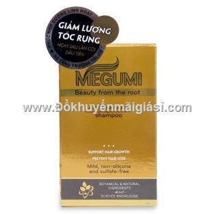 Hộp 5 gói dầu gội Megumi ngăn rụng tóc 9g - Date: 2021