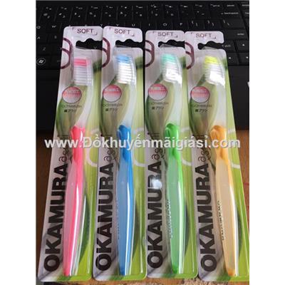 Bàn chải đánh răng siêu sạch Nhật Bản Okamura Asahi dành cho người lớn