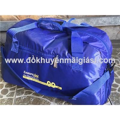 Xanh dương: Túi xách du lịch cao cấp Ensure cỡ lớn nhiều ngăn - Có ngăn đựng giày riêng - Kt: (50 x 24 x 34) cm