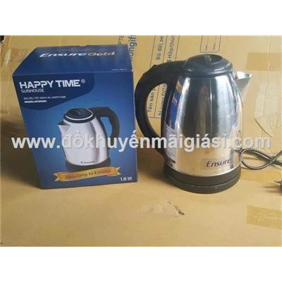 Ấm đun siêu tốc Happy Time SunHouse HTD1088 1.8 lít Ensure tặng