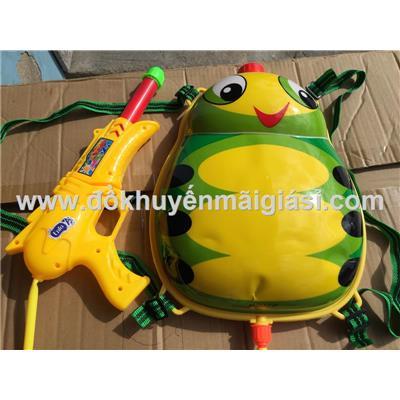 Balo súng nước Enfa hình ếch xanh