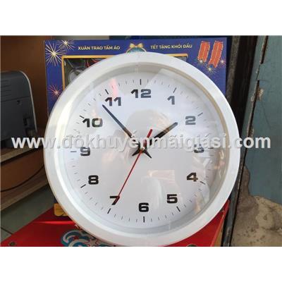Đồng hồ treo tường P&G đường kính 24cm - Tặng kèm pin