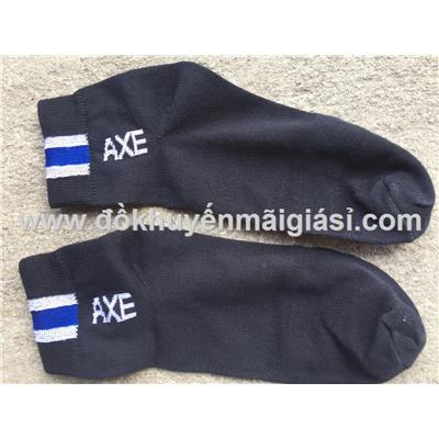 Đôi vớ (tất) nam màu đen có sọc Axe tặng - Dài 25cm  Doi vo (tat) nam mau den co soc Axe tang - Dai 25cm