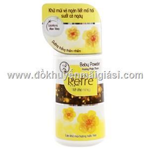 Lăn khử mùi Refre Whitening hương Phấn thơm chai 40ml - Date: 05/2020  Lan khu mui Refre Whitening huong Phan thom chai 40ml - Date: 05/2020