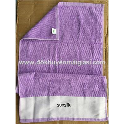 Khăn tắm cỡ vừa Sunsilk màu tím - Kích thước: (82 x 42)cm