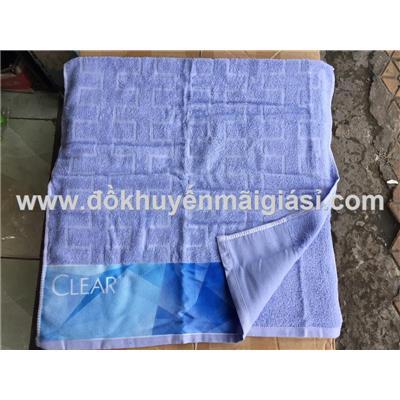 Khăn tắm cỡ lớn Clear màu xanh nhạt - Kích thước: (100 x 50) cm