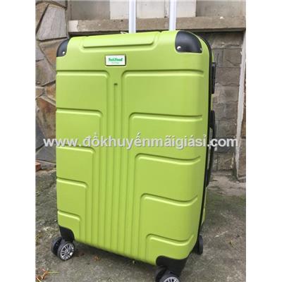Xanh lá: Vali kéo du lịch có khóa số size lớn 24 inch sữa Nutifood tặng - Kt: (40 x 25 x 65) cm - Phí giao hàng tính riêng 10 ngàn