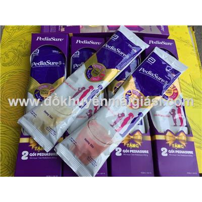 10 gói sữa bột PediaSure 2 vị cho bé 1 - 10 tuổi (10 gói x 49g) - Date: 07/2020 - 5 hộp