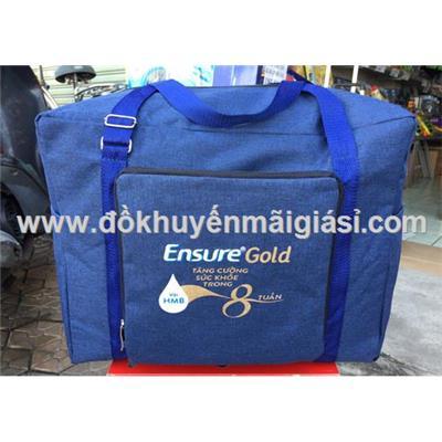 Túi xách du lịch Ensure Gold xếp gọn, chống ướt - Kt: (38 x 21 x 33) cm  Tui xach du lich Ensure Gold xep gon, chong uot - Kt: (38 x 21 x 33) cm
