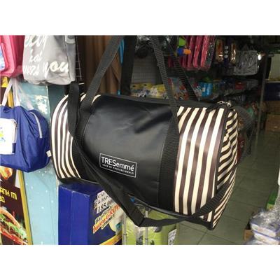 Túi trống Tresemme chống ướt sọc trắng đen - Kt: (37 x 20 x 23) cm