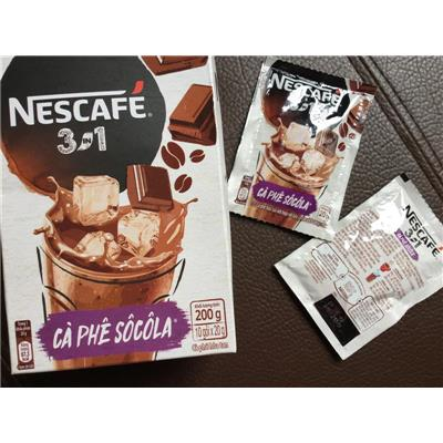 Cà phê sôcôla hòa tan Nescafe hộp 10 gói x 20 gam - Date: 01/06/2019