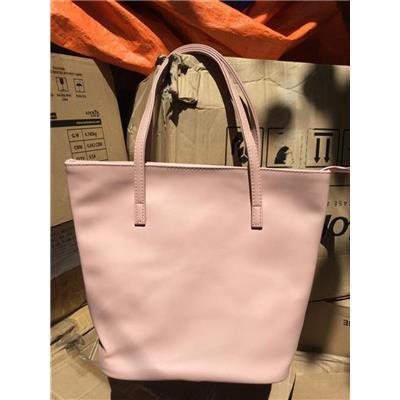Túi xách thời trang Pond's màu hồng Pastel siêu xinh - Kt: (35.5 x 25.5 x 28 x 14) cm - DÂY KÉO  Tui xach thoi trang Pond's mau hong Pastel sieu xinh - Kt: (35.5 x 25.5 x 28 x 14) cm - DAY KEO