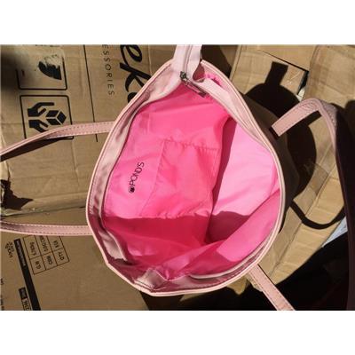 Túi xách thời trang Pond's màu hồng Pastel siêu xinh - Kt: (35.5 x 25.5 x 28 x 14) cm  Tui xach thoi trang Pond's mau hong Pastel sieu xinh - Kt: (35.5 x 25.5 x 28 x 14) cm