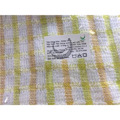 Bộ 2 khăn lau bếp Best Comfort caro - Kt: (40 x 30) cm