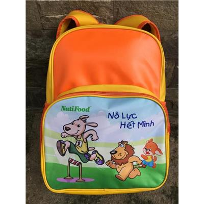 Balo Nutifood 4 ngăn cỡ lớn, chống ướt cho bé tiểu học - Kt: (40 x 14 x 32) cm