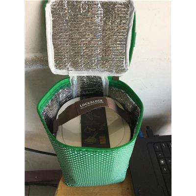 Bộ hộp cơm nhựa 3 tầng Lock&Lock HPL771, nắp riêng - Size lớn/ Kt: (152 x 142 x 180) mm